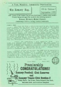 thumbnail of Romsey Rag No 100 September 1993