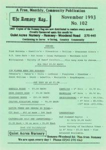 thumbnail of Romsey Rag No 102 November 1993