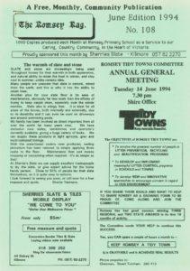 thumbnail of Romsey Rag No 108 June 1994