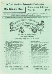 thumbnail of Romsey Rag No 111 September 1994