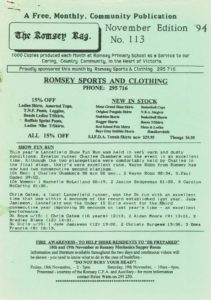 thumbnail of Romsey Rag No 113 November 1994