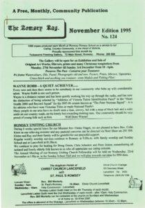 thumbnail of Romsey Rag No 124 November 1995
