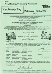 thumbnail of Romsey Rag No 127 February 1996