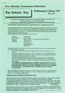 thumbnail of Romsey Rag No 137 February 1997