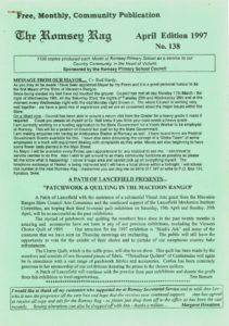 thumbnail of Romsey Rag No 138 April 1997