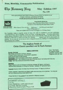 thumbnail of Romsey Rag No 139 May 1997