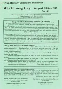 thumbnail of Romsey Rag No 142 August 1997