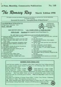 thumbnail of Romsey Rag No 148 March 1998