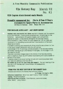 thumbnail of Romsey Rag No 83 March 1992