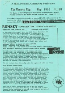 thumbnail of Romsey Rag No 88 August 1992