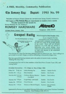 thumbnail of Romsey Rag No 99 August 1993